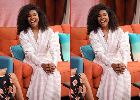 Can you spot the THREE differences in these Gabrielle Union photos?