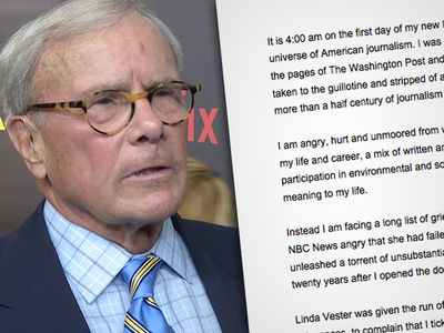 Tom Brokaw Adamantly Denies Accusations by Woman Accusing Him of Sexual Harassment