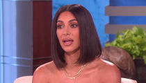 Kim Kardashian Tells Ellen, Tristan Cheating on Khloe is 'So F***ed Up'
