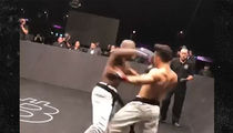 Luke Rockhold Ringside for Brutal Karate Combat K.O.