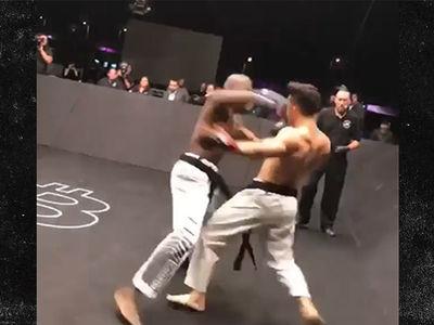 Luke Rockhold Ringside for Brutal Karate Combat K.O.