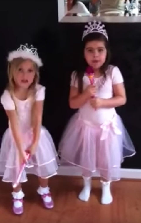 Sophia Grace and Rosie are best known for their video rapping to Nicki Minaj's song 'Super Bass'