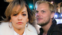 Rita Ora Tears Up On Stage Over Avicii