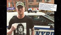 Osama bin Laden Killer Robert O'Neill Sports a Rambo Shirt