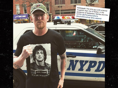 Osama bin Laden Killer Robert O'Neill Sports a Rambo Shirt
