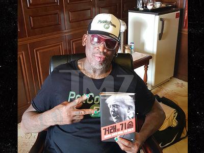 Dennis Rodman Gave Kim Jong-un These Donald Trump Books
