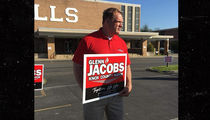 WWE's Kane Stumping Hard On Election Day, Vote for Me!!