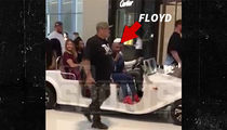 Floyd Mayweather Gets VIP Caravan Through Dubai Mall