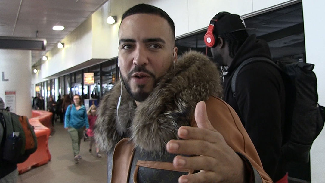 Image result for French Montana Hates Kanye West's Support of President Trump