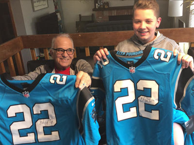Christian McCaffrey Sends Awesome Panthers Gifts to Rescued Hiker