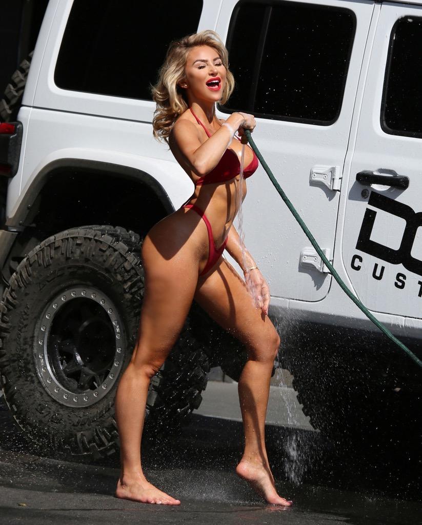 Washing The Car At Home