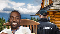 Kanye West Gets Special Treatment at Wyoming Resort