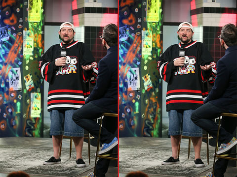 Can you spot the THREE differences in these Kevin Smith photos?