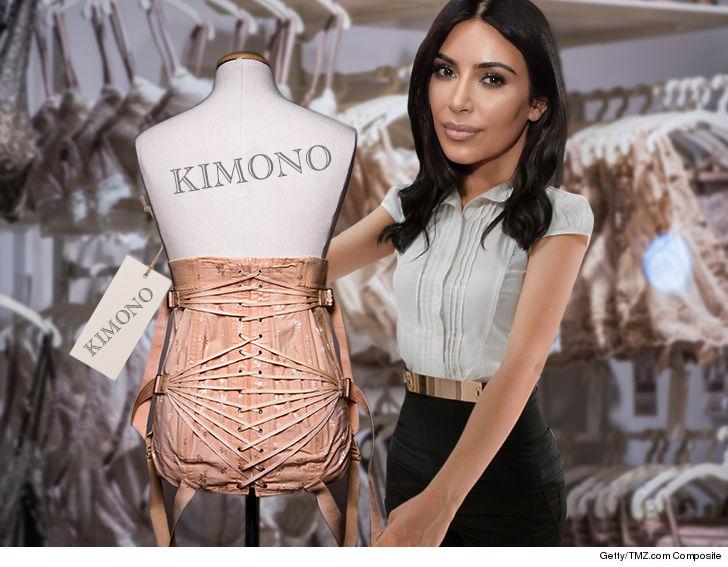 bb9bbb95fe5 Kim Kardashian West Brands Lingerie Line  Kimono Intimates