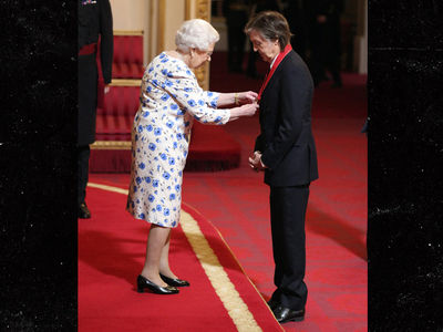 Sir Paul McCartney Made Companion of Honour by Queen Elizabeth