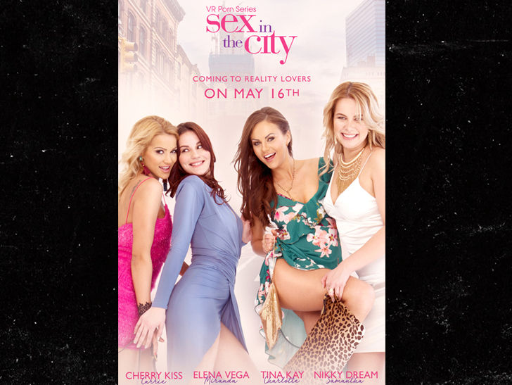 Sex and the City Porn Spoof Goes Virtual Reality
