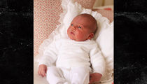 Kate Middleton and Prince William's Baby, Prince Louis, Seen Up Close for First Time