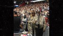 Khloe Kardashian Shows Up at Cavaliers Game to Support Tristan Thompson