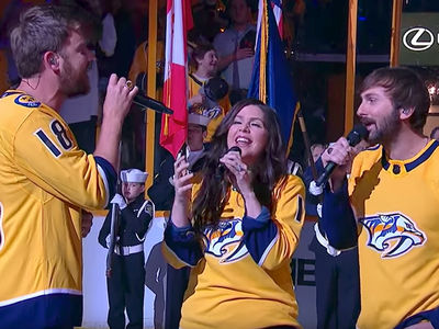 Lady Antebellum Messes Up National Anthem at Nashville Predators Hockey Playoff Game