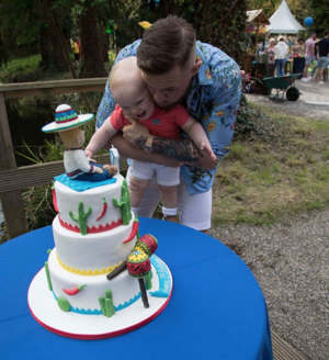 Conor McGregor Jr. -- 1st Birthday Party Pics