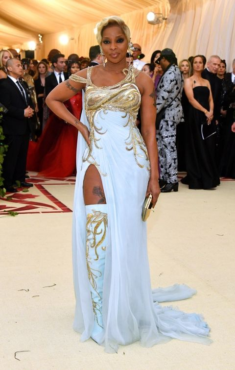 Image result for Mary J. Blige met gala