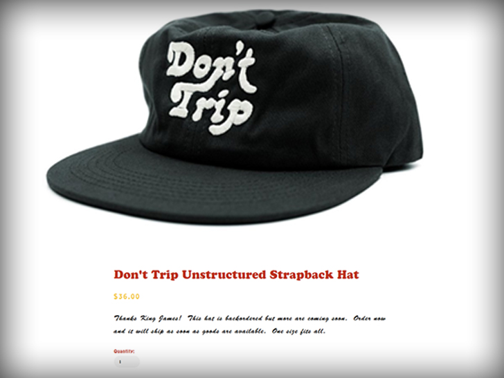 69308d9a1c8 LeBron James   Don t Trip  Hat Helps Company Sell Out Overnight ...