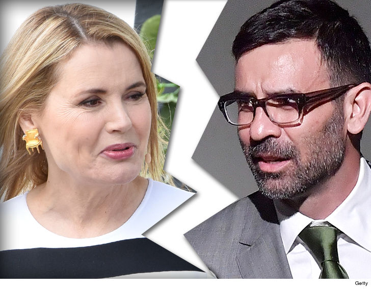 Geena Davis and Dr. Reza Jarrahy Divorcing After 16 Years of Marriage