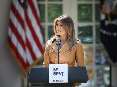 Melania Trump Defends 'Be Best' Pamphlet Against Plagiarism