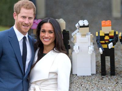 LEGOLAND Screws Up Meghan Markle's Skin Tone in Royal Wedding Exhibit