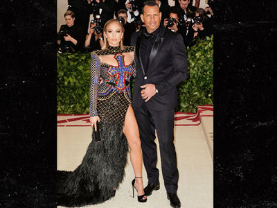 J Lo and A-Rod's Met Gala Balmain Outfits Up for Auction