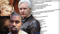 Pamela Anderson Reaches Out to Kanye West to Help Julian Assange