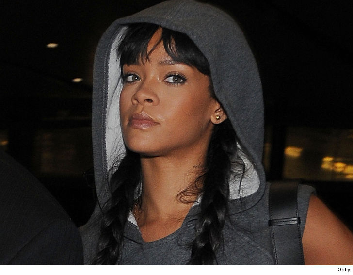 A man has been arrested for breaking into Rihanna's home