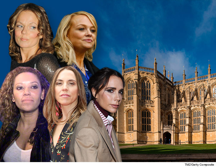 Mel B might've played too fast and loose with the truth by implying the  Spice Girls were performing at the Royal wedding, 'cause they're not -- at  least for ...
