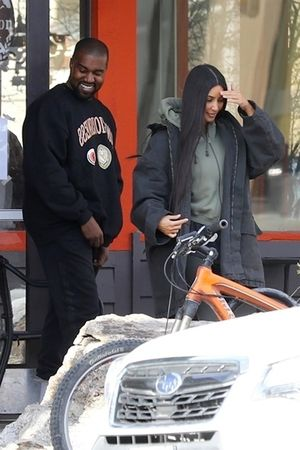 Kim and Kanye in Wyoming -- Meat and Greet