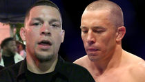Nate Diaz Says GSP's a Steroid Cheat, I'm Not Fighting Him