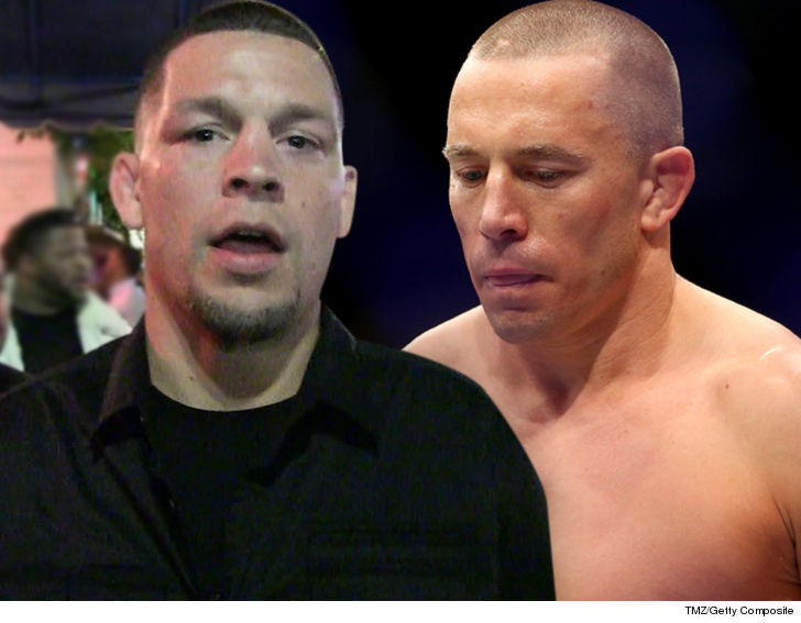 Nate Diaz GSP's a Steroid Cheat ... I'm Not Fighting Him