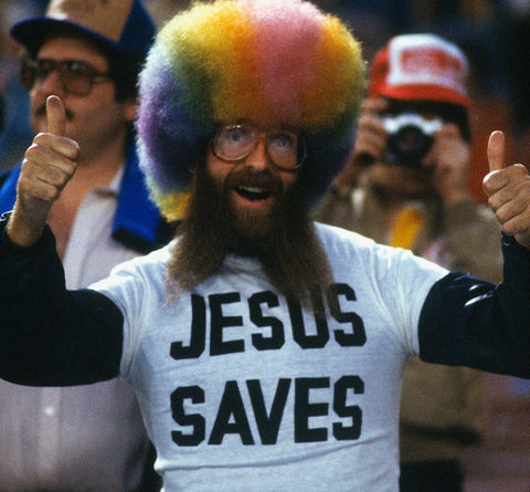 Rollen Stewart gained fame in the 80's for rockin' a rainbow afro wig to the biggest sporting events in the world and even landed a Budweiser commercial and was spoofed on 'SNL.'