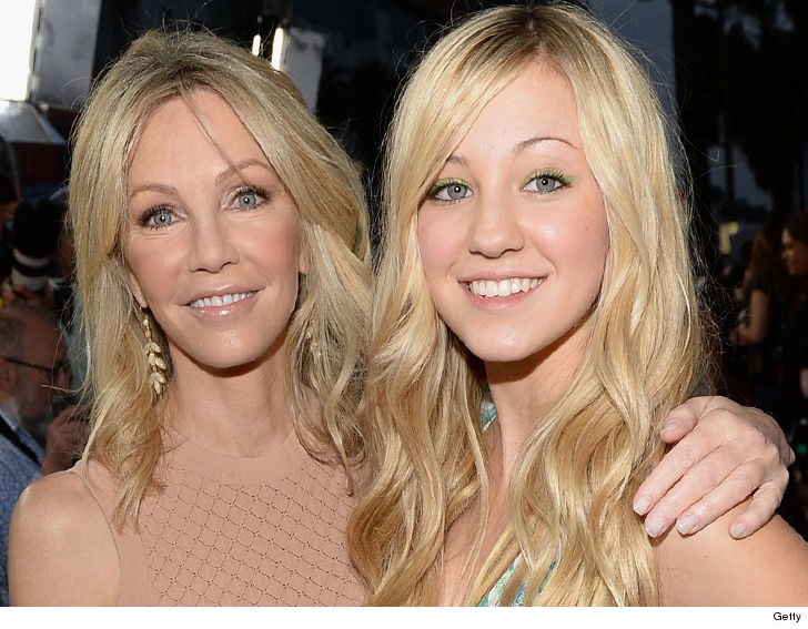 Heather Locklear Spending Mothers Day with Daughter Ava