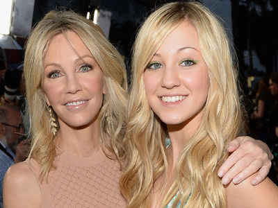 Heather Locklear Spending Mother's Day with Daughter Ava