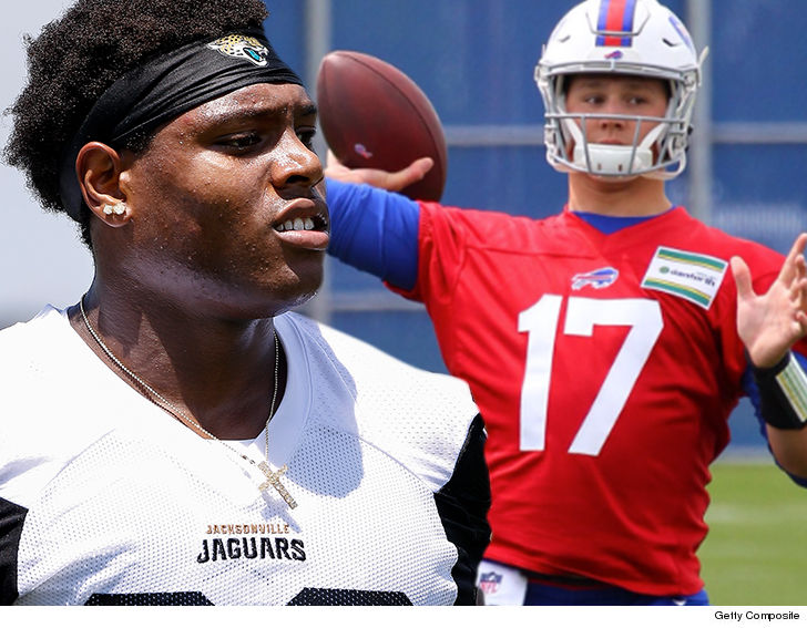 Josh Allen meets Jim Kelly at Bills rookie minicamp