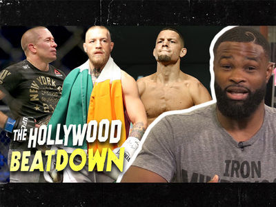Georges St-Pierre and Nate Diaz Are 'Bitches,' Says Tyron Woodley