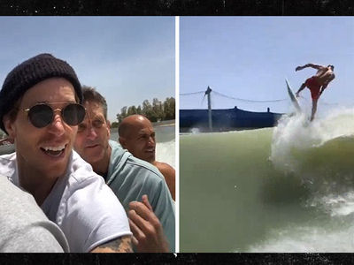 Shaun White Crushes Kelly Slater's Epic Surf Wave Machine