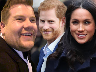 James Corden Will Attend Royal Wedding and Both Receptions