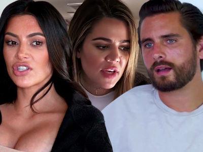 Kim, Khloe Kardashian & Scott Disick Sued Over Jet Fees