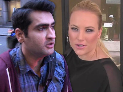 Kumail Nanjiani Bends the Knee to Meghan McCain In Fight Over Her Dad