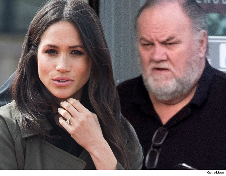 Image result for meghan markle  and father