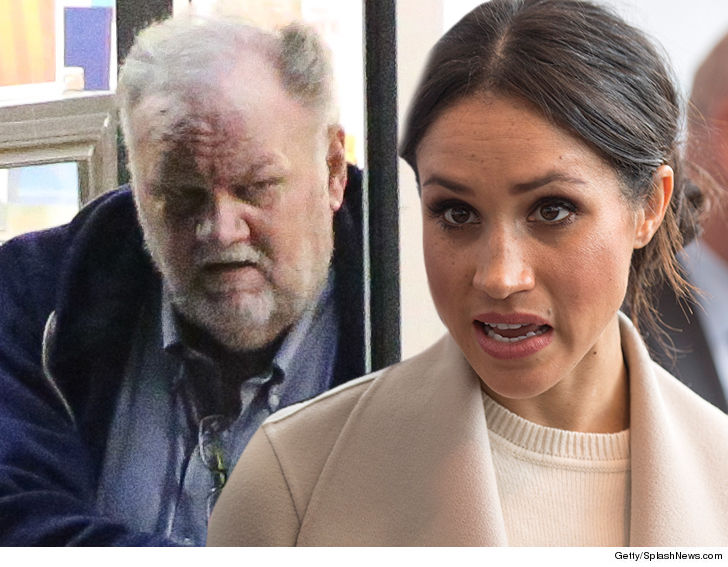 Meghan Markle's Dad Alert and Out of Surgery