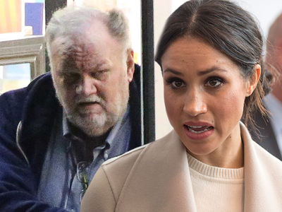 Meghan Markle's Dad Suffering New Chest Pains and Will Head to Hospital