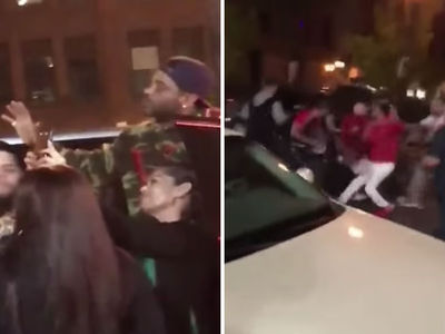Rapper Jim Jones in Street Brawl Over Fan Photos Outside Nightclub
