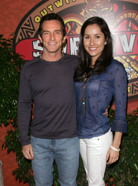 Jeff Probst and Julie Berry
